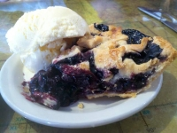 Best pie at the Pio-o-neer in PieTown, NM