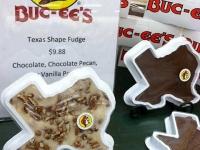 Bucees Texas Shape Fudge