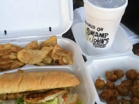 Swamp John's Po Boy and Okra Muscle Shoals, AL