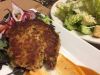 Crab Cake at Fish, Fort Collins CO