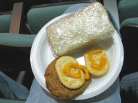 Mystery Meat Sandwich and Stale Cheese Whiz at the Fiddle Fest