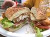 Halibut Burger at The Bus, Hyder Alaska
