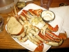 Fresh cracked crab dinner in Dungeness