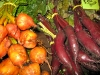 Local organic beets at Nash Farm in Sequim