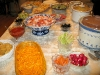 The Crawfords put on a spread for friends of Jim and Rene