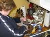 Julie makes pot roast for Jim