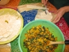 Making Indian Curry Flavor Tamales