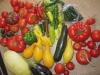 Fresh Home Garden Veggies
