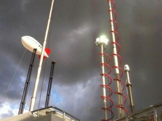 KiraVan Situational Awareness System Masts
