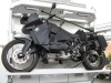 Track Turbo Diesel Motorcycle on KiraVan Expedition Vehicle