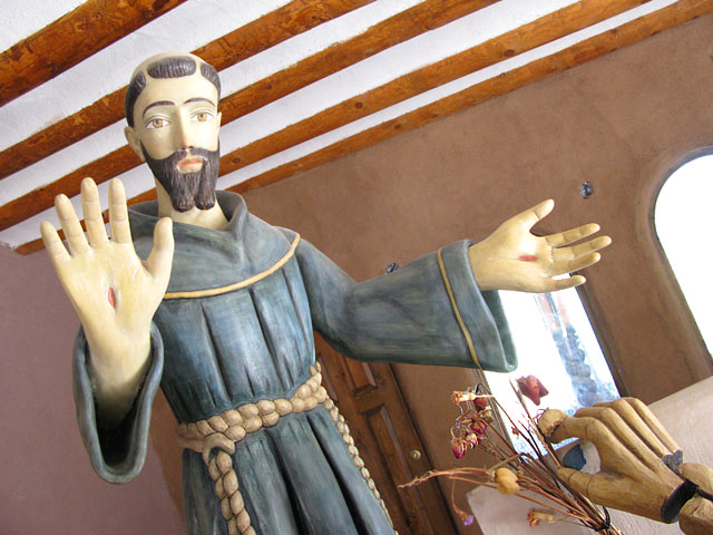 Santuario de Chimayo Jesus Wood Carving