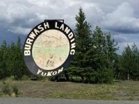 Burwash Landing, YT Largest Gold Pan