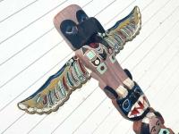 First Nation Totem Carving, Skagway Alaska