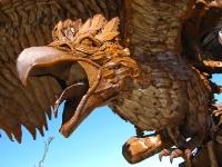 Galleta Meadows Eagle Sculpture Borrego Springs