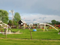 Indiana Farm Art Yard Sculpture