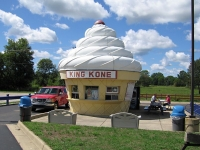 Get a Miami Ice at King Kone in Michigan