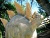 Thermopolis, WY Hot Springs Stegasaurus Dinosaur Statue