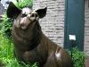 Bronze Pig Sculpture Fredericksburg Texas