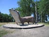The Otter Tail County Mascot in Minnesota