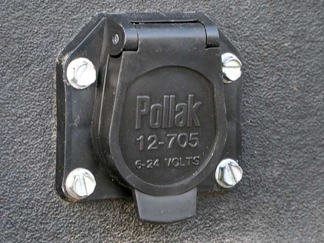 truck bed socket for rv trailer tow cord