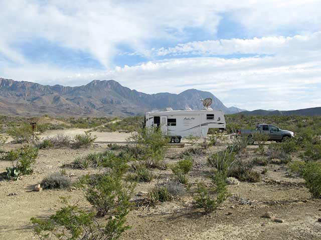 Big bend national park camping with hookups