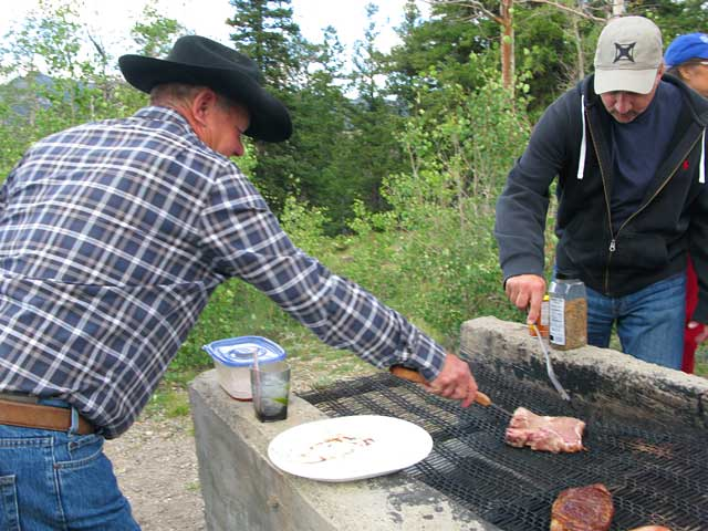 Vickers Ranch Gold Hill Steak Fry