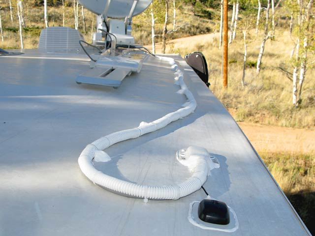 How To Mount Satellite Internet Dish On RV Roof And Wire