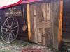 Vickers Ranch Ice house Door