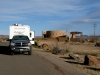 Free RV Boondocking at Marfa Lights Viewing Station