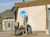 Solar Powered Satellite TV in Boquillas Mexico