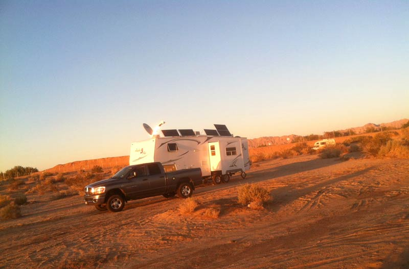 Slab City RV boondocking