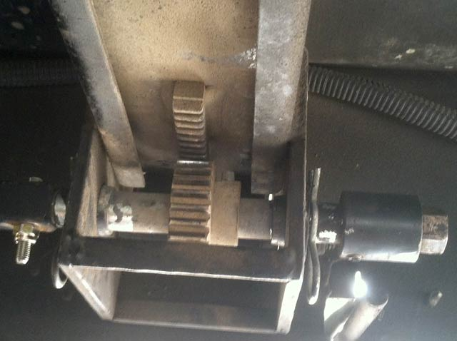 RV Slideout Rails Timing Gear Adjustment