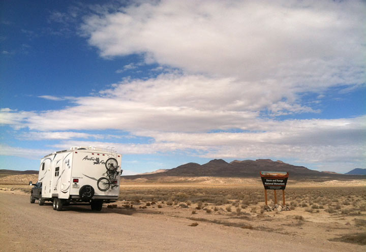 Basin and Range Monument, Nevada, RV, camping, boondocking, review