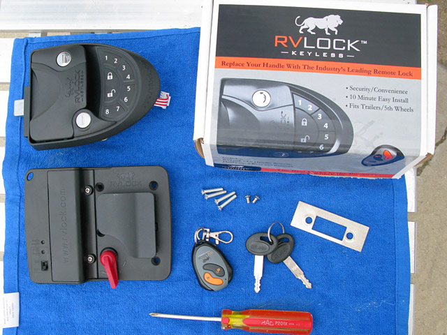 RVLock Keyless RV Entry Door Handle Install