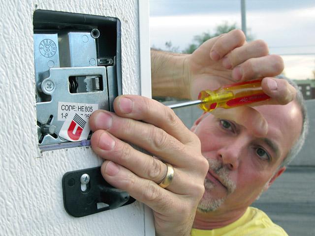 RVLock Keyless RV Entry Door Handle Install