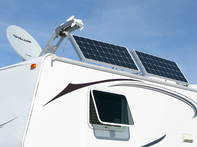 RV Satellite Inernet and Solar Power
