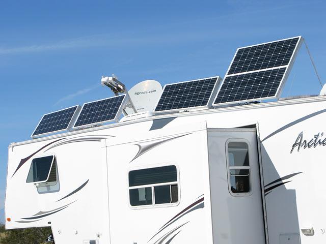 Arctic Fox Boondocking RV Solar Power Satellite Internet