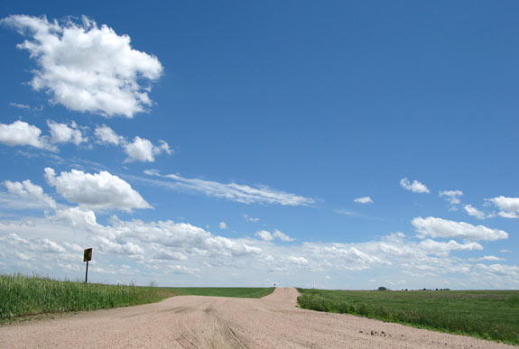 Backroads and Big Sky Near Cope, CO
