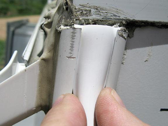 Replacement RV Rain Trim Weatherstrip