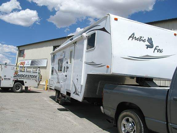 Matching RV trailer tires