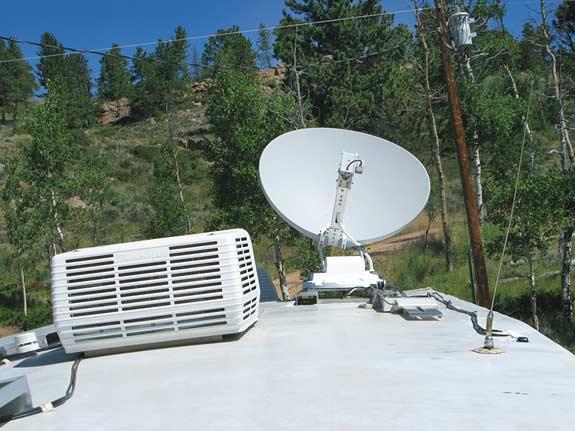 RV Datasat 840 Satellite Internet Dish