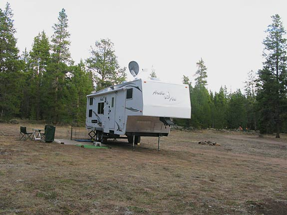 Free RV Boondocking Leadville, CO