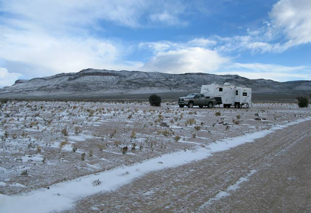 Basin and Range Monument, Nevada, RVing, camping, boondocking