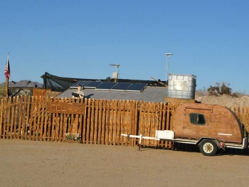Slab City Compound Security