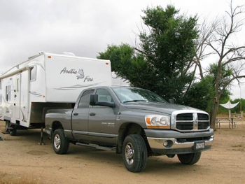 RV Boondocking at Joyful Journey Hot Springs Tent Sites