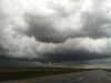 Nebraska wall cloud tornado warning