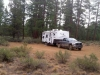 National Forest Boondocking outside Bend, Oregon