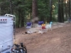 Unattended Capfire at Shaver Lake Camp Edison