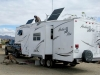 RV Solar Power Installation on Arctic Fox Fifth Wheel