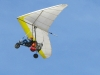 Glider Flying Free Over Slab City